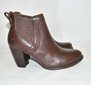 469a983fb98 Details about UGG 'Cobie II' Block Heel Bootie LEATHER BORON COMFORT  FEMININE CHIC 8 US (M12)