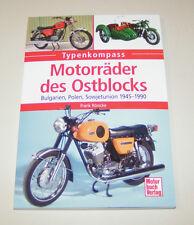 Motorräder des Ostblocks Sokol, Ural, Dnepr, Junak, Balkan, Ish - Typenkompass!