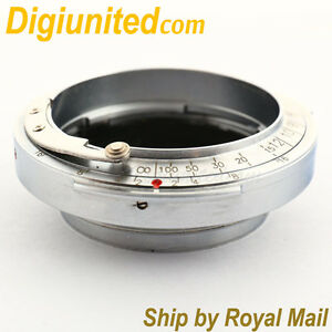 Contax-Rangefinder-RF-CRF-mount-lens-to-Leica-SM-M39-L39-mount-adapter-AS-Kipon