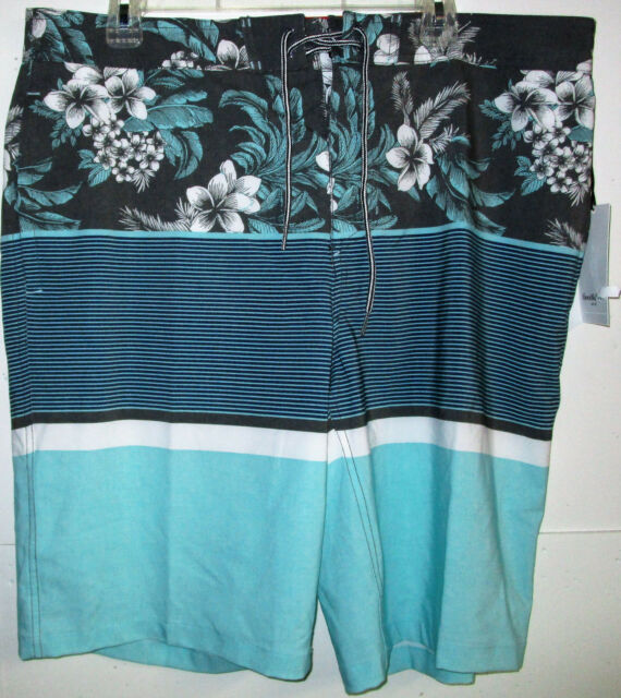 6a2194eec1 Goodfellow & Co Mens Stoked Board Shorts Size 36 Aqua for sale ...