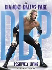 WWE - Diamond Dallas Page Positively Living 3 Disc Set Dvd Brand New Sealed