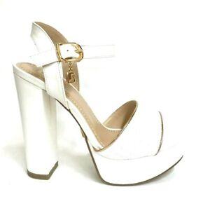 sono diversamente calzature selezione migliore Women's Shoes Laura Biagiotti Sandals Heel 5469 White Summer 2019 ...