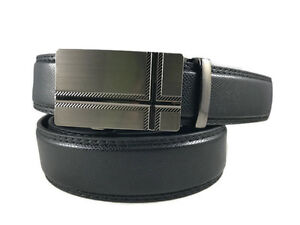 DESIGNER MEN/'S CASUAL JEANS DRESS SOLID GENUINE LEATHER BELT 1.25 WIDE S M L XL