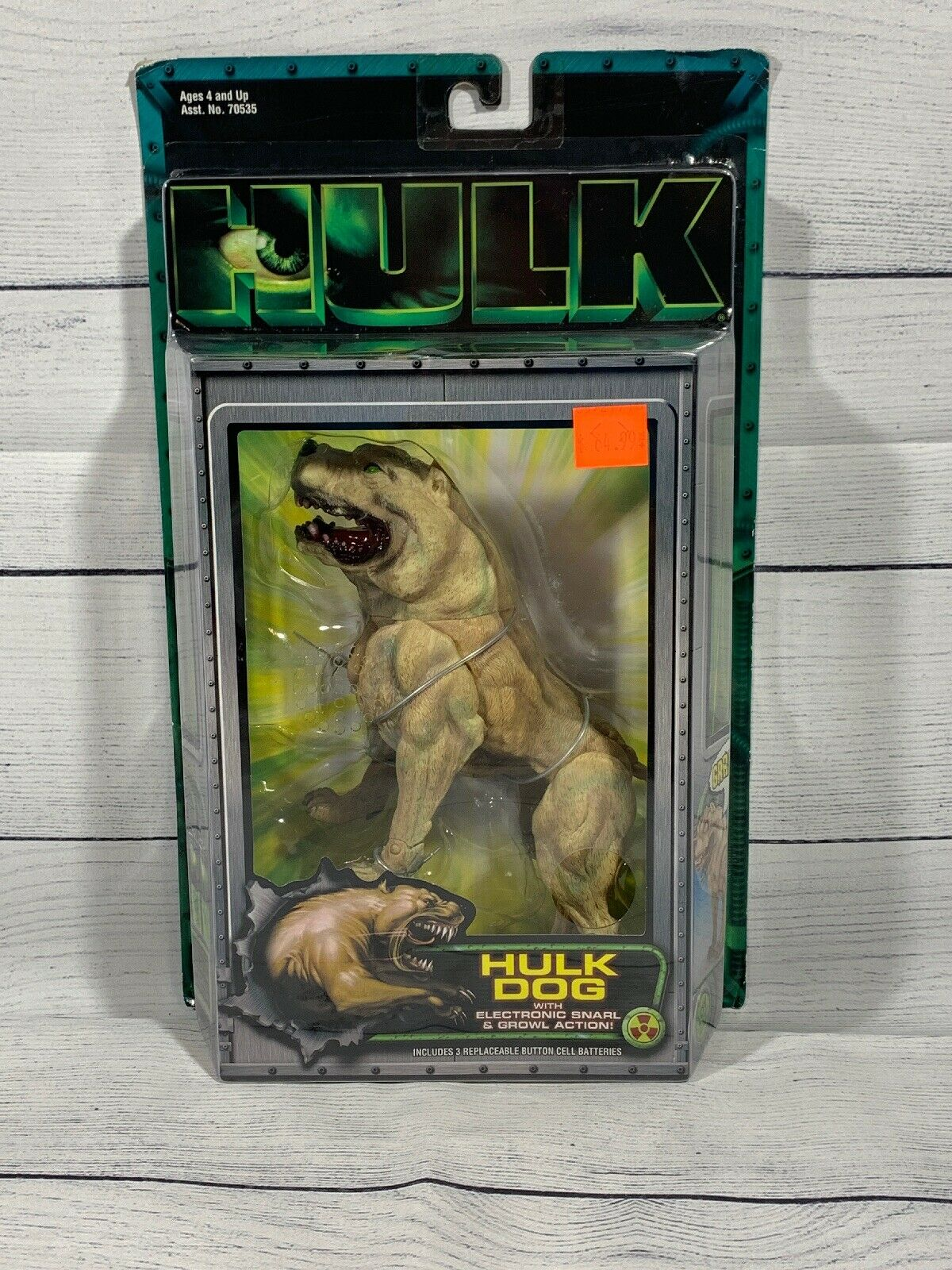 Spielzeug Biz Marvel Hulk Hund From The Motion Picture New In Meerled Box