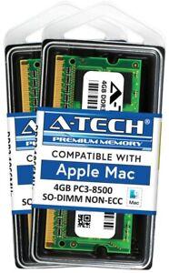 8GB 2x 4GB PC3-8500 1066 1067 MHz for Apple MacBook Pro iMac Mac mini MEMORY RAM