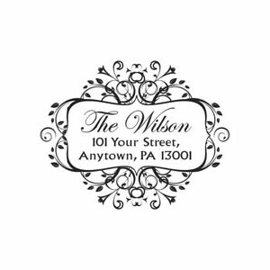UNMOUNTED-PERSONALIZED-RETURN-ADDRESS-RUBBER-STAMP-R208