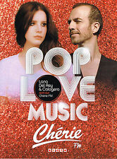 PUBLICITE ADVERTISING 015  2014  CHERIE FM radio  CALOGERO & LANA DEL REY POP LO