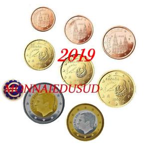 Serie-1-Cent-a-2-Euro-Espagne-2019-Serie-UNC