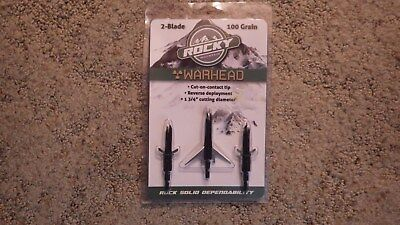 Rocky Mountain 2-blade Warhead Yet Not Vulgar Arrows & Parts Outdoor Sports