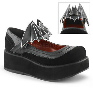 Demonia-SPRITE-09-Black-Vegan-Leather-Velvet-Platform-Mary-Jane-Bat-on-Ankle
