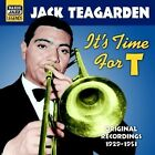 It's Time for T: Original Recordings 1929-1953 by Jack Teagarden (CD, May-2006, Naxos Jazz)