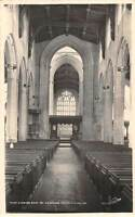 England Ludlow, St. Laurence Church, Nave looking East, real photograph