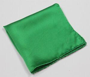 Battaglia-Beverly-Hills-Bright-Green-Hand-Rolled-Silk-Pocket-Square