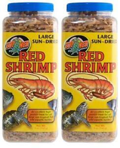 2-Pack-Zoo-Med-Jumbo-Sundried-Red-Shrimp-Large-5-Ounces-Each