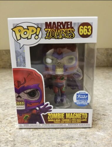 Zombie Magneto Funko Shop Exclusive Funko Marvel