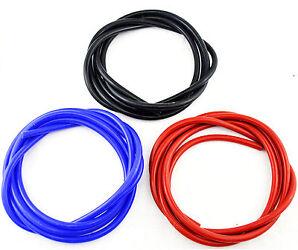 Vacuum Hose Silicone Tube Tubing Pipe Dump Valve Pipe Metre  blue black red