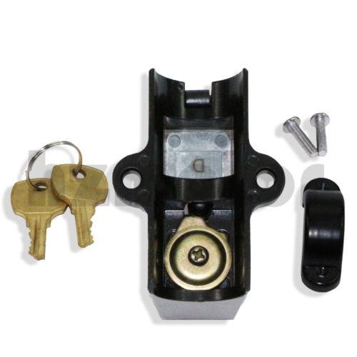 Black Helmet Lock Fit Kawasaki Ninja ZX 1000 1000R 600R 600 RX 900 R 750 R H2 R