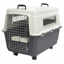 Large Dog Travel Crate Airline Approved Pet Flying Cargo Big Carrier