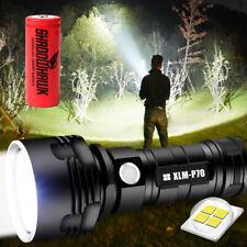 Shadowhawk Super-bright 90000lm Flashlight CREE LED P70 Tactical Torch +battery