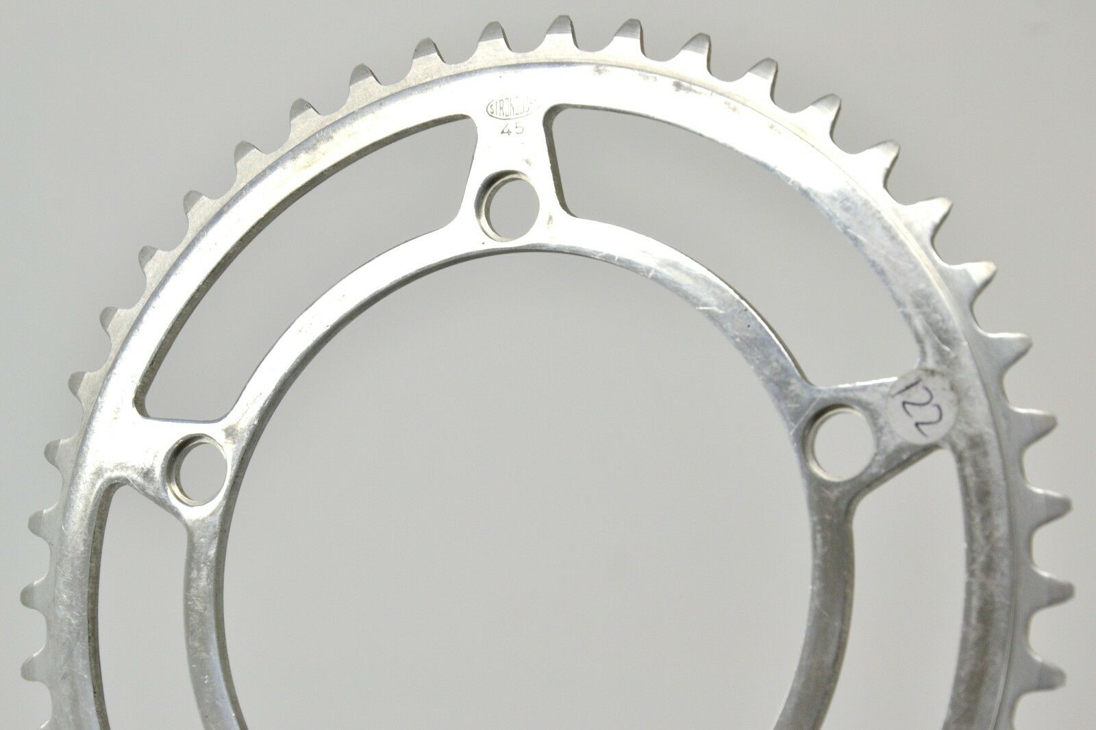 Stronglight Chainring 122BCD 45T 3 32   NOS Made in France Rene Herse  customers first