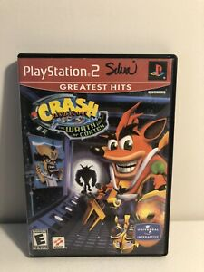Crash-Bandicoot-The-Wrath-of-Cortex-Sony-PlayStation-2-PS2-Complete-in-Box-CIB