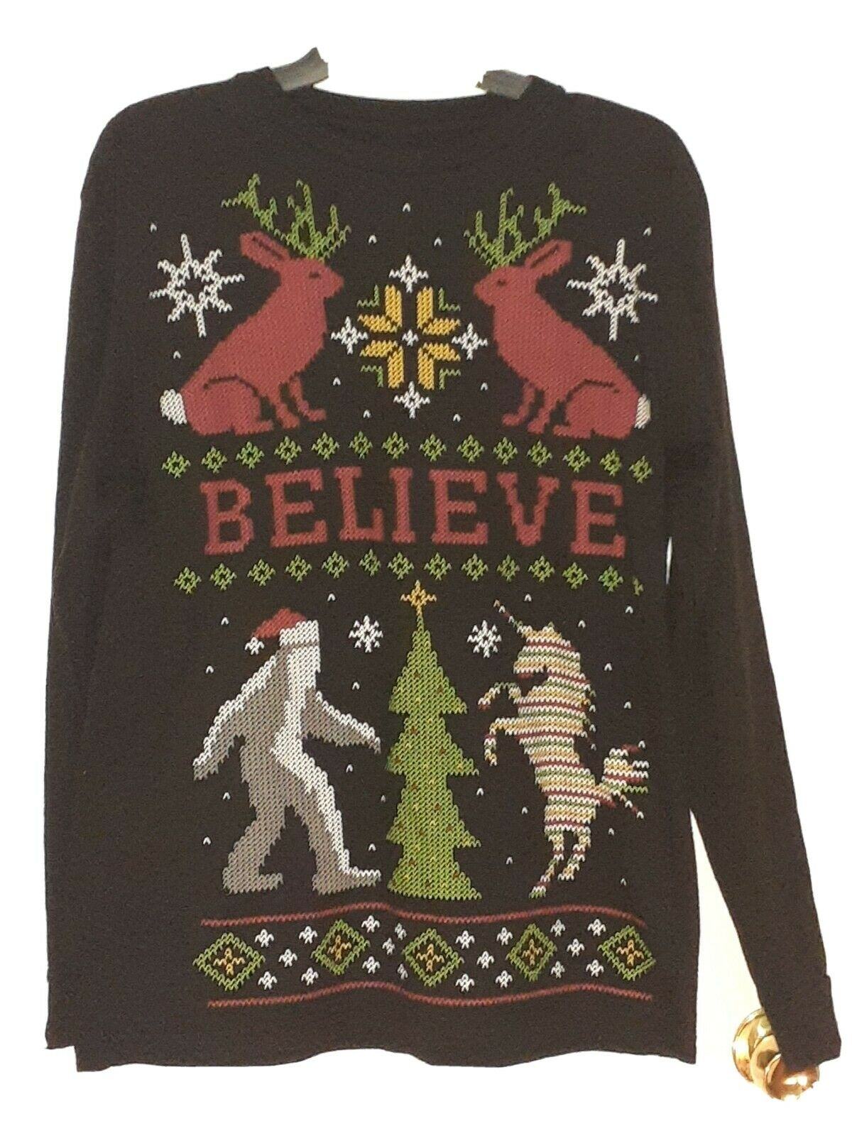 Dec. 25 Ugly Sweater