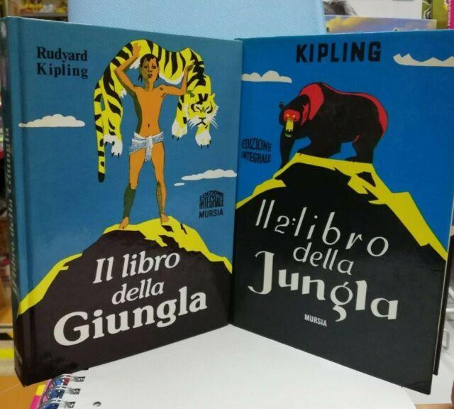 Il libro della giungla 2 volumi R Kipling Ed. Mursia  @