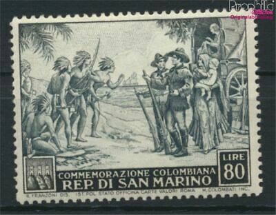 Hart Arbeitend San Marino 474 Postfrisch 1952 Christoph Kolumbus Briefmarken 9288720 Verkehr & Transport