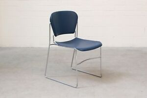 Perry-Chair-Office-Stacker-Blue-Plastic-Made-in-USA-33887