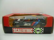 Scalextric 4093 8325, BMW M3 in Black, unused car, boxed