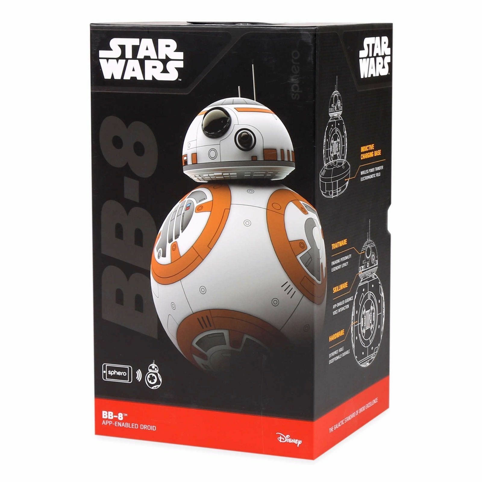 SPHERO STAR WARS  BB-8 APP-ENABLED w  Force Band Band Band DROID d638ce