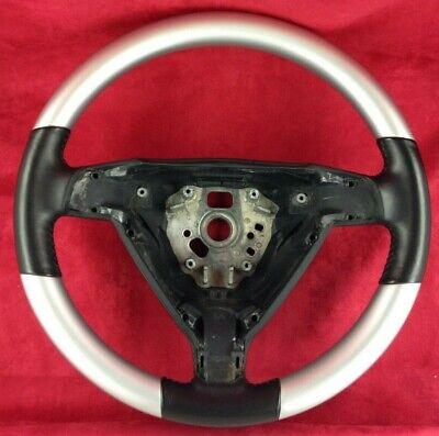 avec cuir neubezogen volante Volant pour peugeot 308 coutures Noir