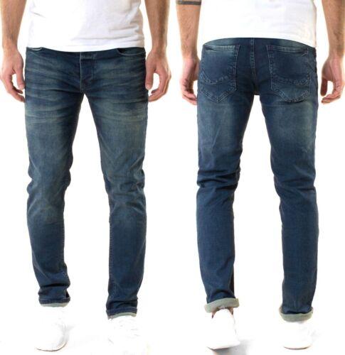 Serseriseñores Designer slim fit Jeans-pantalonesStretchazul oscurolook usado