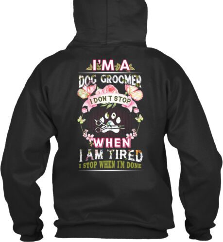 Stop I ben Ik not Hoodie College Do Dog Awesome Groomer A Sensationeel standaard cAzYIqwF