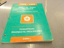 1993 1994 1995 41TE/AE Chrysler Dodge Plymouth FWD Service Manual OEM FREE Ship