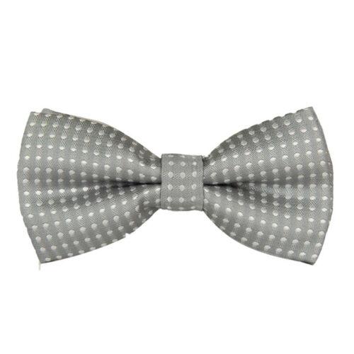 School Boy Kids Children Baby Wedding Bowtie Satin Pre Tied Bow Neck Tie Necktie