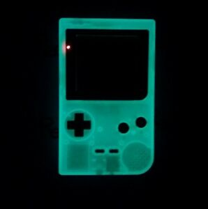 Details about *MINT* Nintendo GameBoy Pocket GLOW IN THE DARK refurbished  System Green color