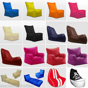 XXXL-Large-Giant-Bean-Bags-Lounger-High-Back-Gaming-Sofa-Chair-Seat-Garden-New