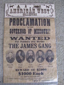 The-James-Gang-Wild-West-Collection-Wanted-Replica-Poster-Outlaw-Younger