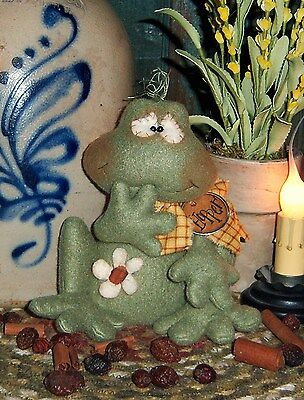 Primitive Mitten Gingerbread Ornie Doll Paper Pattern #551