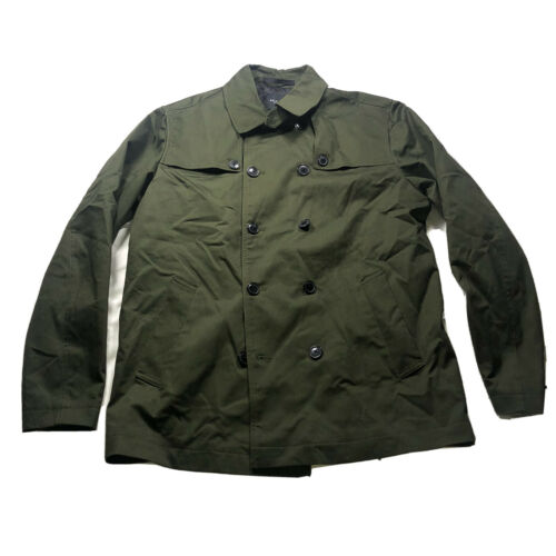 Selected Homme Organic Cotton Blend Olive Green Tr
