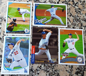 CLAYTON-KERSHAW-2008-Upper-Deck-Rookie-Card-RC-1993-SP-HOT-LOT-Dodgers-No-Hitter