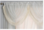 SHIMMERY-GLITTERY-SILVER-FRINGE-TASSEL-CREAM-VOILE-NET-CURTAIN-SWAG-6-29-EACH thumbnail 1