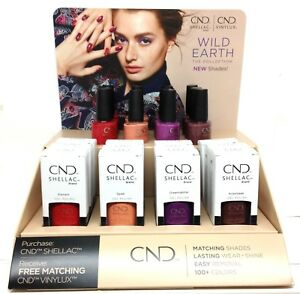 CND-Shellac-Gel-Polish-25oz-WILD-EARTH-Collection-Pick-Any