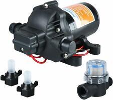 Amarine Made 12v 28 Gpm 45 Psi Water Pressure Diaphragm Pump For Boatmarinerv