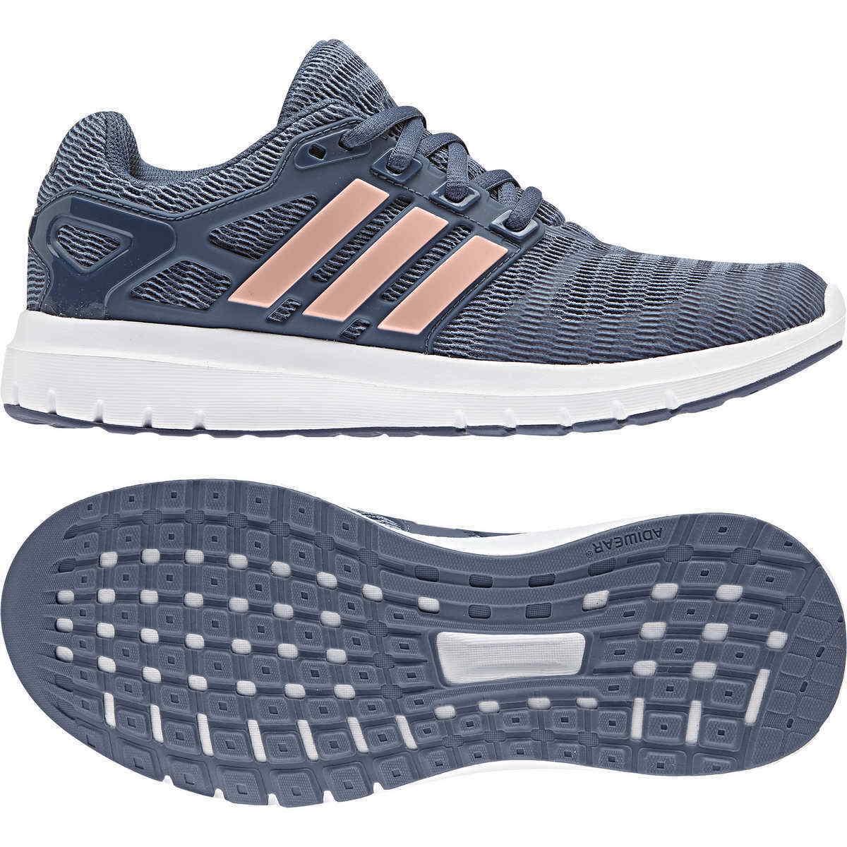 scarpe da ginnastica ADIDAS ENERGY Cloud RAW grigio BLU rosa MESH lacci b44852 cloudfoam | Commercio All'ingrosso  | Maschio/Ragazze Scarpa