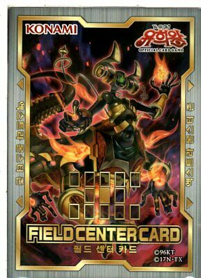 "Yu-Gi-Oh Field Center Card /""Altergeist Hexstia/"" Korean"