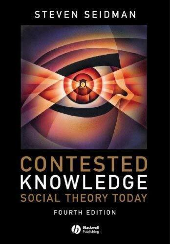 Contested Wissen: Social Theorie Heute von Seidman, Steven