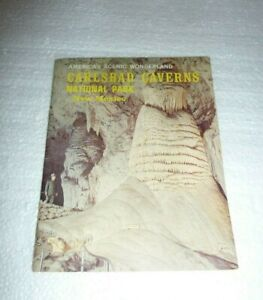 Vtg 1977 Carlsbad Caverns National Park  New Mexico  Travel Booklet  S-57