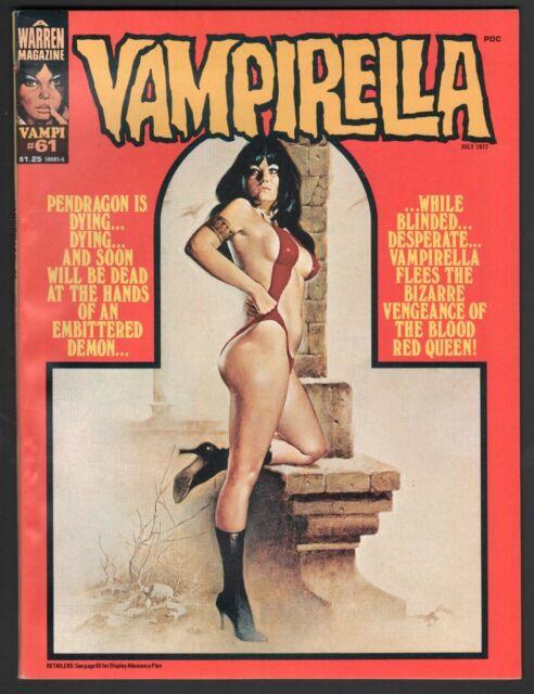 Vampirella Magazine #61 (1969 Series) Warren July 1977 VF/NM